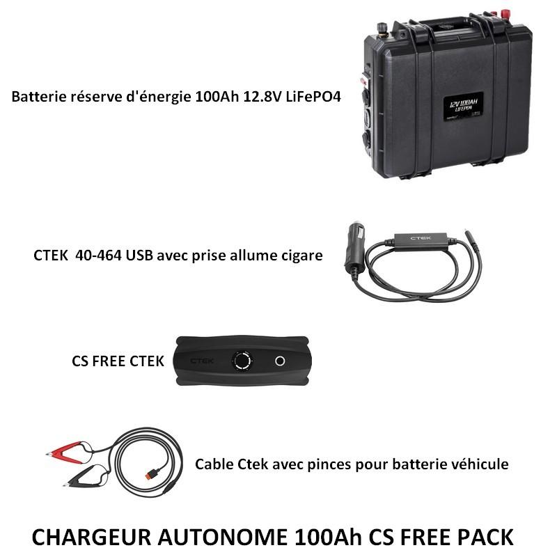 Pack CS FREE 100Ah LiFePO4